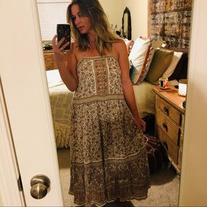 SPELL Jasmine Maxi Dress M Size Swap or Sale